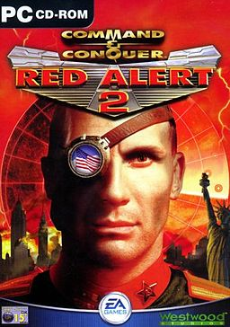 Cover Command & Conquer: Red Alert 2 + Yuri's Revenge (2000-2001) PC | RePack by R.G. Mechanics