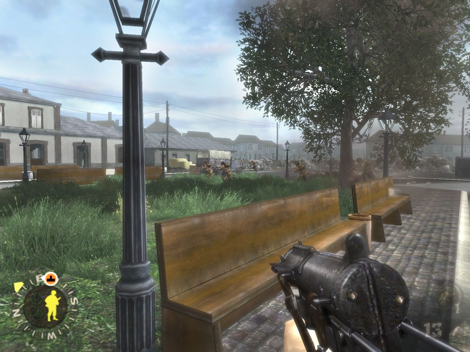 Screenshot for the game Brothers In Arms - Trilogy (2005-2008) PC | RePack by R.G. Mechanics