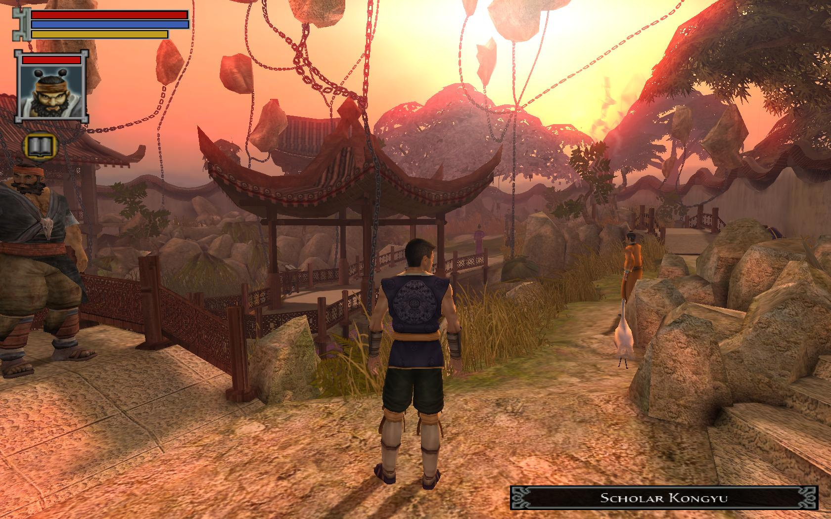 Screenshot for the game Jade Empire: Special Edition (2007) PC | Lossless Repack by R.G. Mechanics