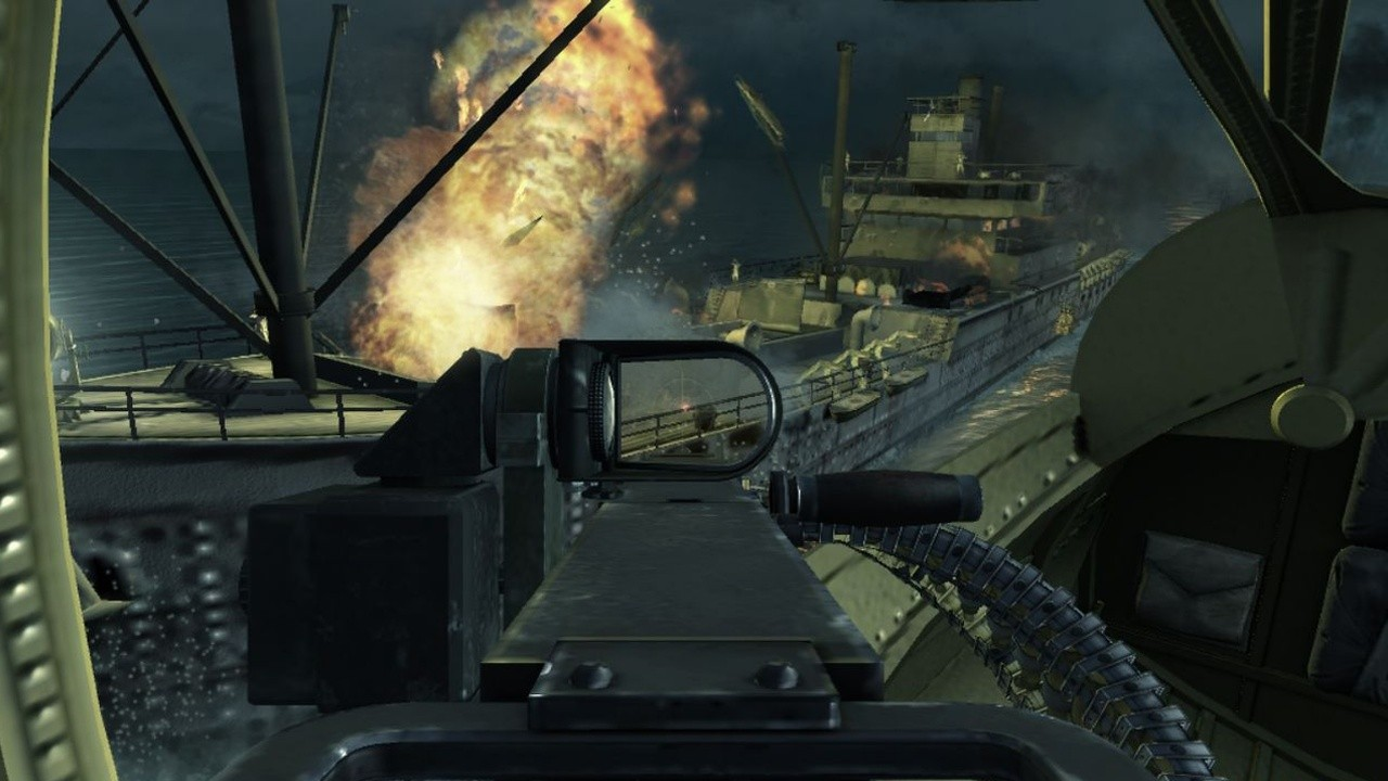 Screenshot for the game Call of Duty: World at War (2008) PC | RePack by R.G. Mechanics