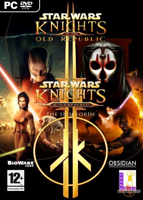 Cover Star Wars: Knights of the Old Republic. Epic Collection [2 in 1] (2003 - 2005) PC | RePack by R.G. Mechanics