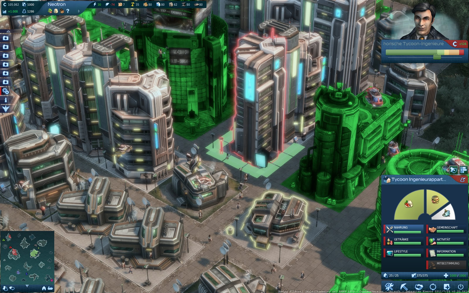 Screenshot for the game Anno 2070 (2011) PC | RePack by R.G. Mechanics