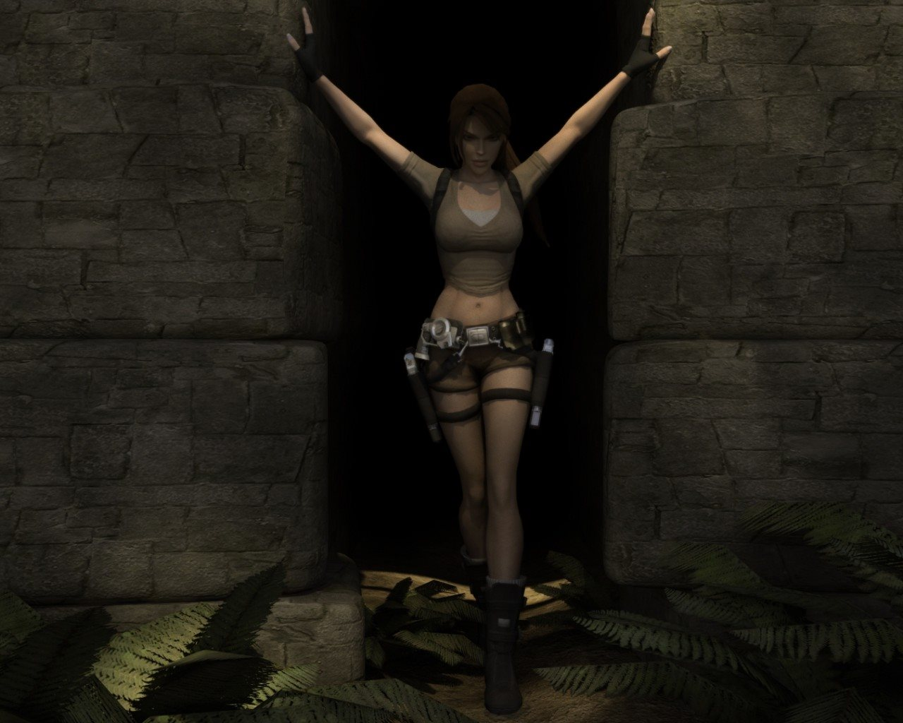 Screenshot for the game Tomb Raider: Legend / Tomb Raider: Legend (2006) PC | RePack by R.G. Mechanics