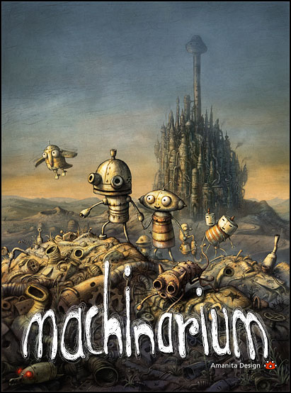 Cover Машинариум / Machinarium (2009) PC | Repack от R.G. Механики