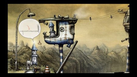 Screenshot for the game Машинариум / Machinarium (2009) PC | Repack от R.G. Механики