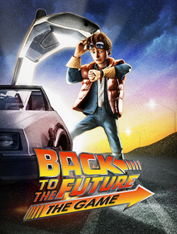Poster Back To The Future: The Game (2010-2011)