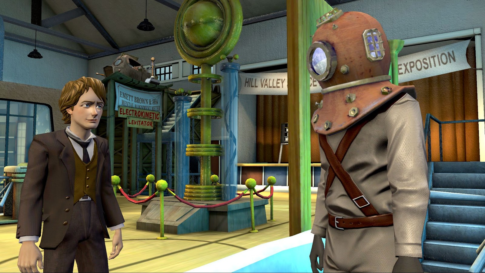 Screenshot for the game Back To The Future: The Game (2010-2011) PC | RePack by R.G. Mechanics