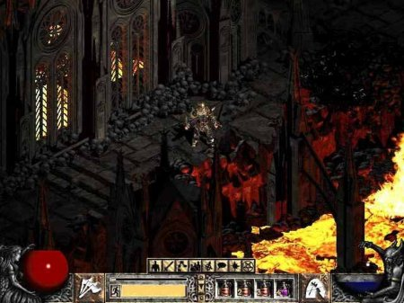 Screenshot for the game Diablo 2 (2000-2001) PC | RePack by R.G. Mechanics