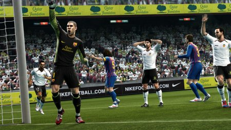 Screenshot for the game Pro Evolution Soccer 2013 (2012) PC | RePack от R.G. Механики