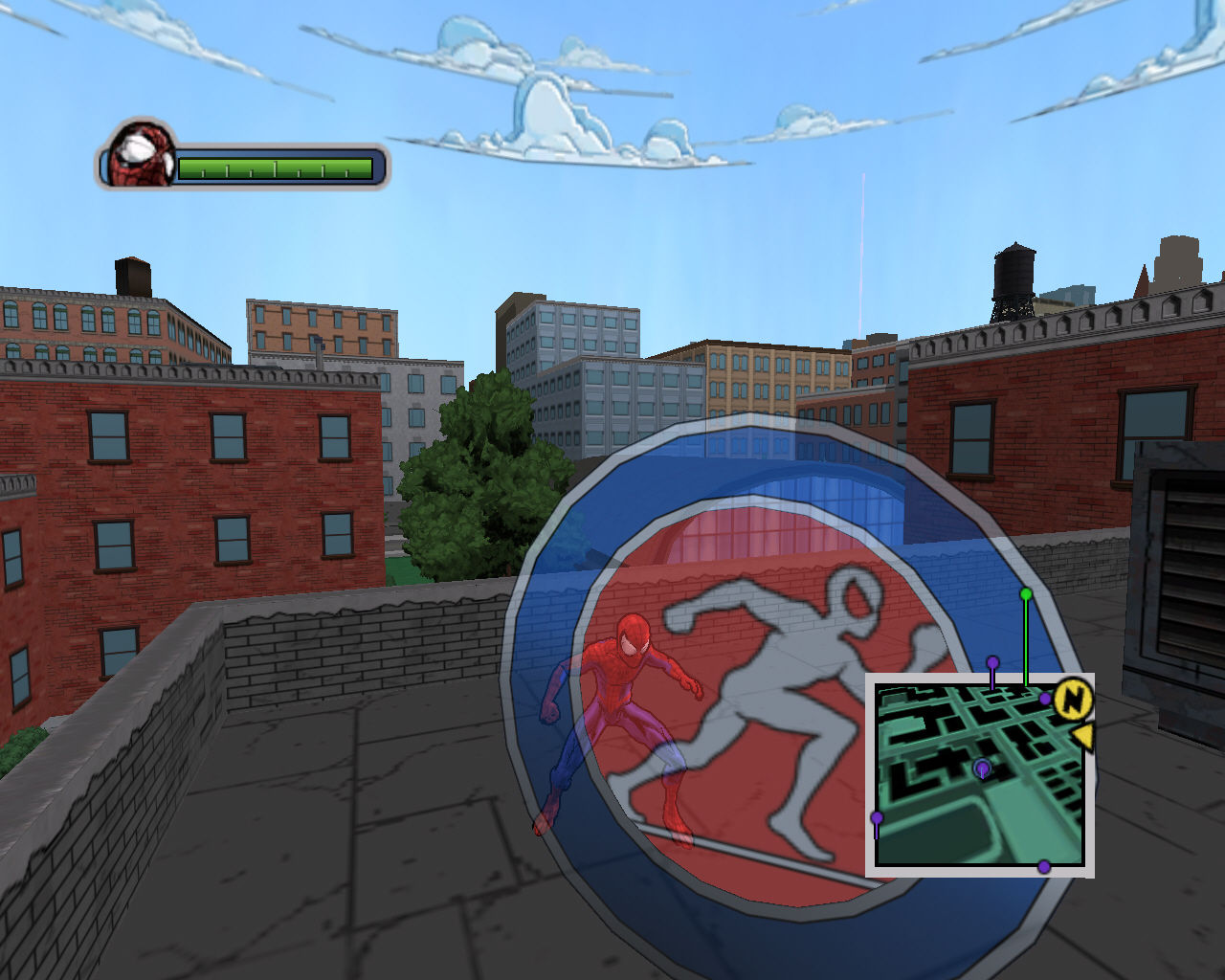 Screenshot for the game Ultimate Spider-Man (2005) PC | RePack от R.G. Механики