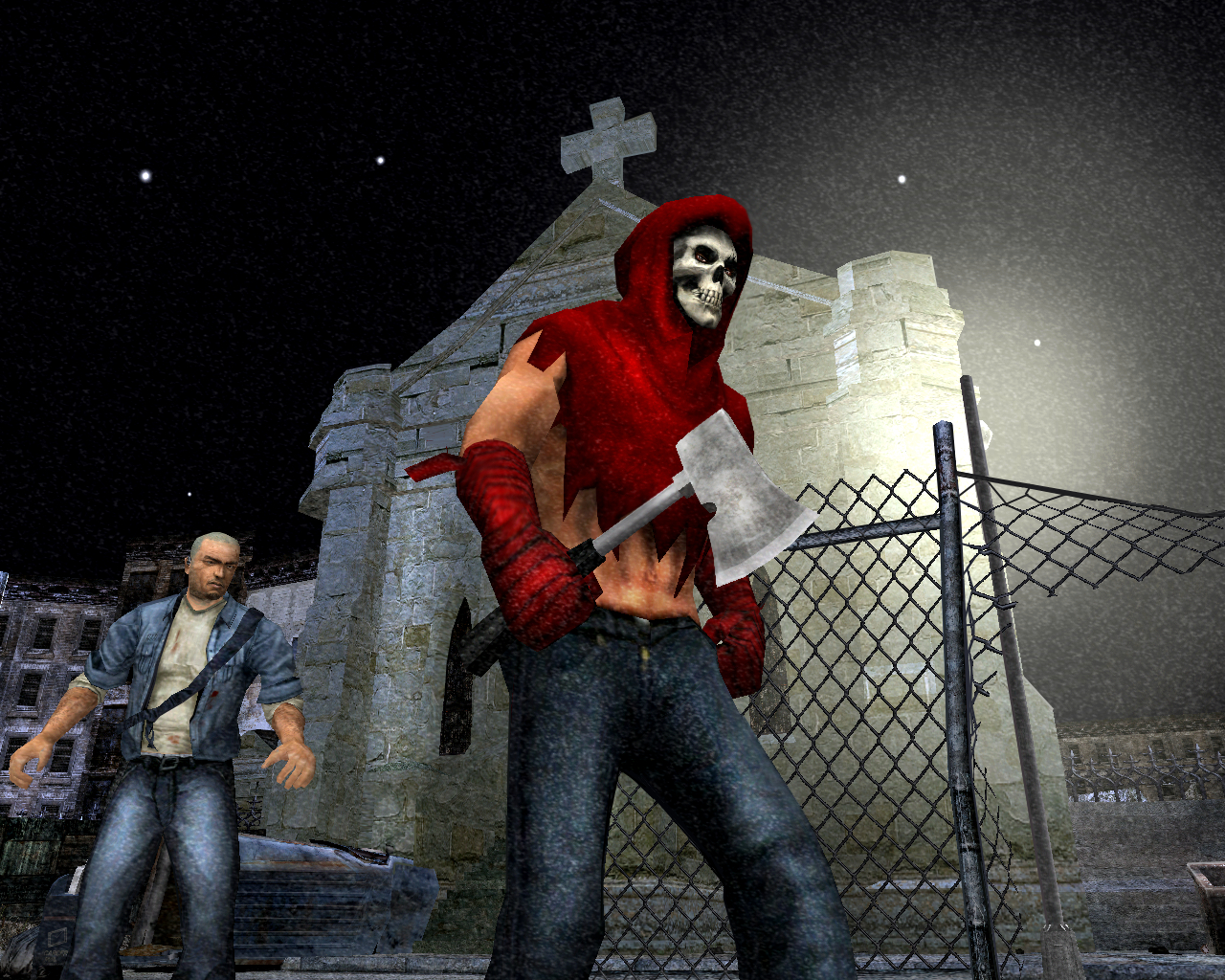 Screenshot for the game Manhunt: Dilogy (2004-2009) PC | RePack от R.G. Механики