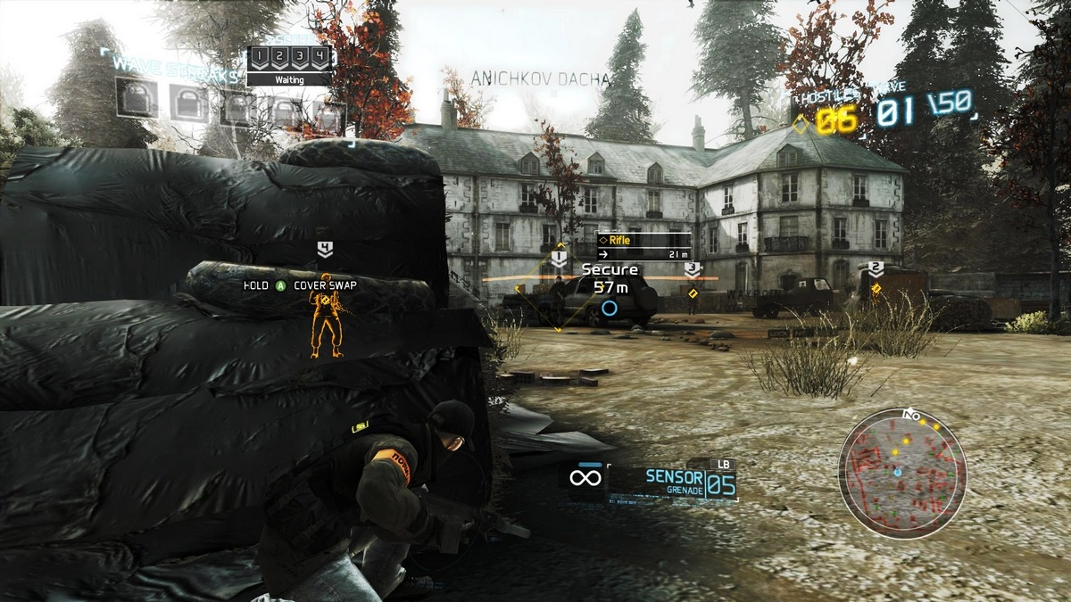Screenshot for the game Tom Clancy's Ghost Recon: Future Soldier (2012) PC | RePack от R.G. Механики