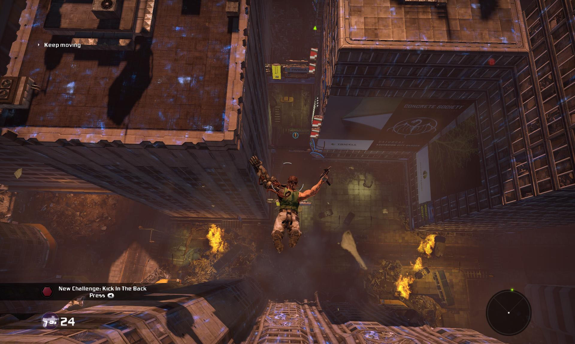 Screenshot for the game Bionic Commando:Trilogy (1988-2009) PC | RePack от R.G. Механики