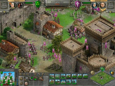 Screenshot for the game Knights of Honor (2004) PC | Repack от R.G. Механики