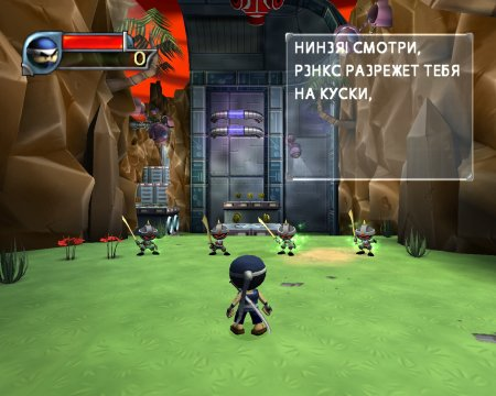 Screenshot for the game I-Ninja (2004) PC | RePack от R.G. Механики