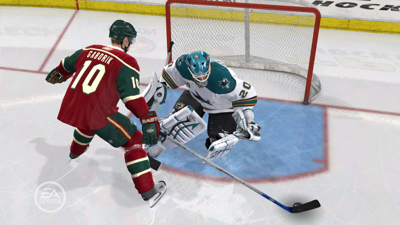 Screenshot for the game NHL 09 (2008) PC | RePack от R.G. Механики