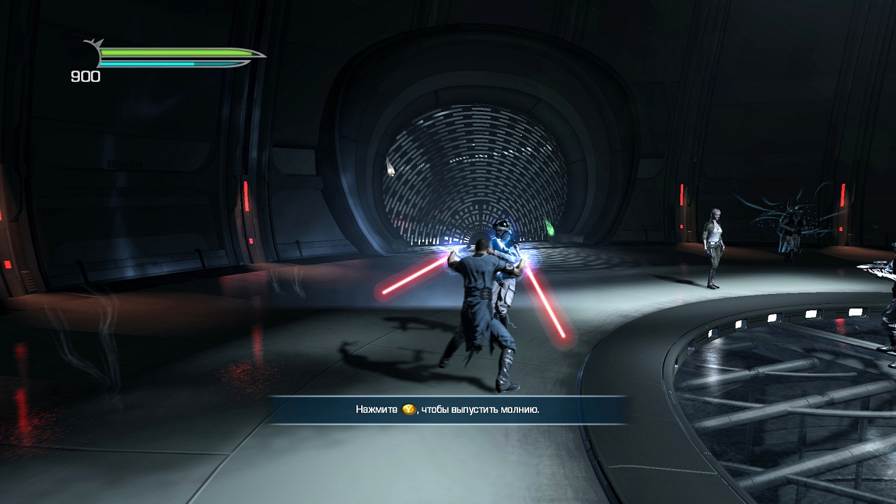 Screenshot for the game Star Wars: The Force Unleashed - Dilogy (2009-2010) PC | Repack от R.G. Механики