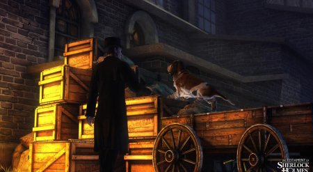 Screenshot for the game The Testament of Sherlock Holmes (2012) PC | RePack от R.G. Механики