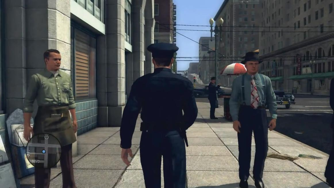 Screenshot for the game L.A. Noire: The Complete Edition [v 1.3.2617] (2011) PC | RePack от R.G. Механики