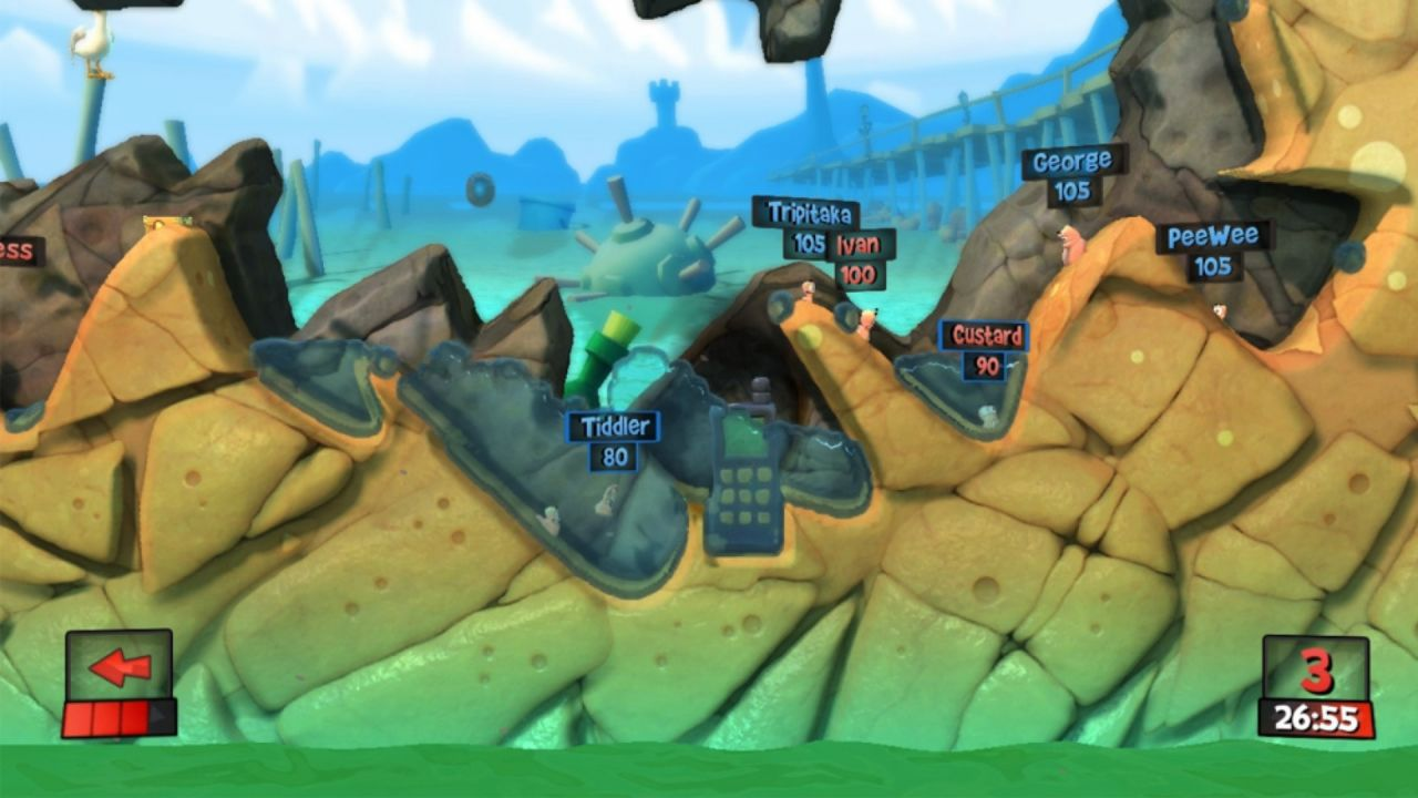Screenshot for the game Worms Revolution (2012) PC | RePack от R.G. Механики