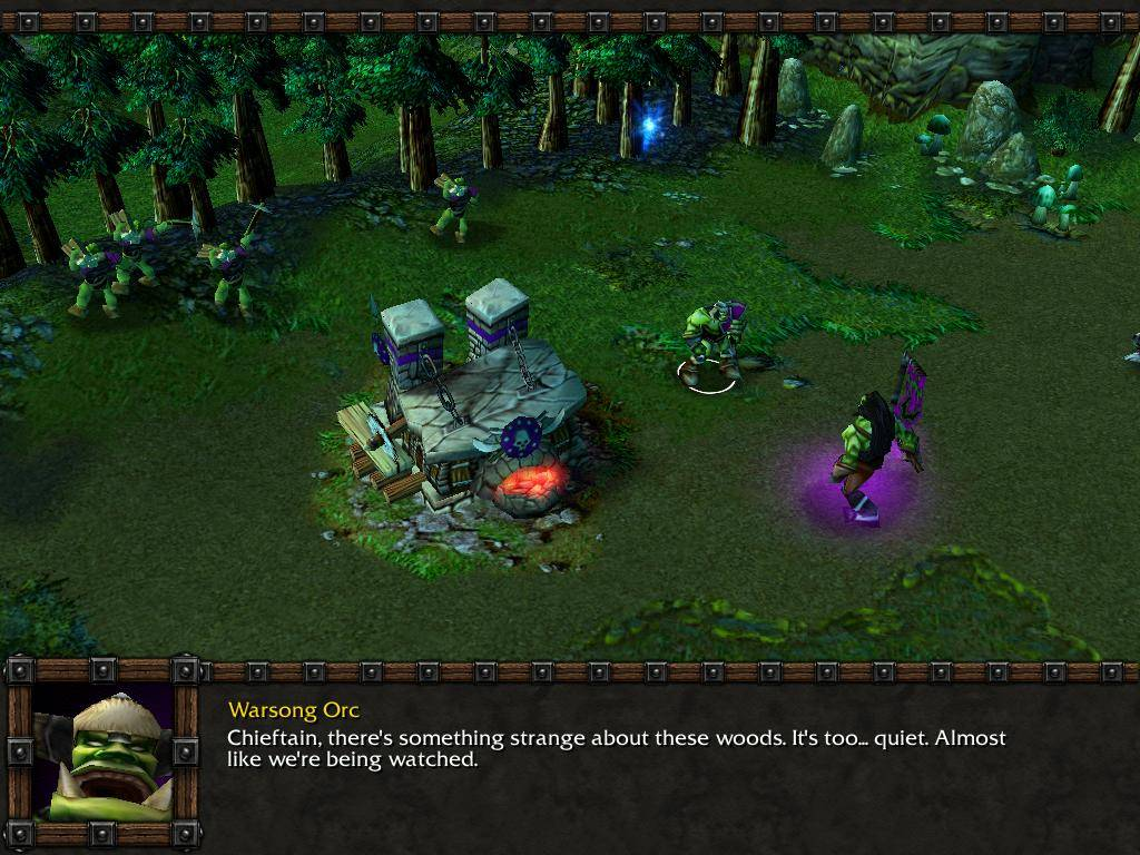 Screenshot for the game Warcraft 3: The Reign of Chaos (2002-2003) PC | RePack от R.G. Механики