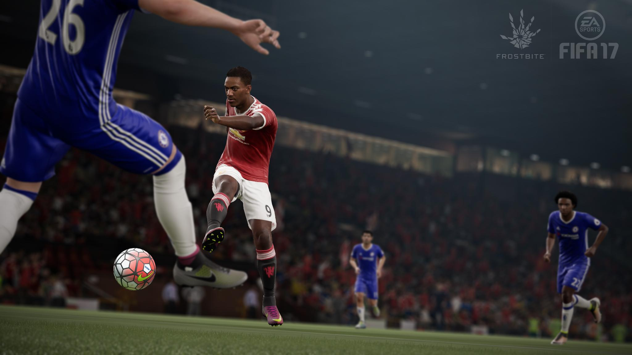 Screenshot for the game FIFA 17