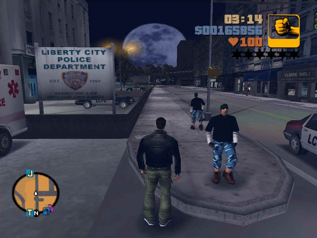 Screenshot for the game GTA / Grand Theft Auto: Anthology (1998-2010) PC | RePack от R.G. Механики