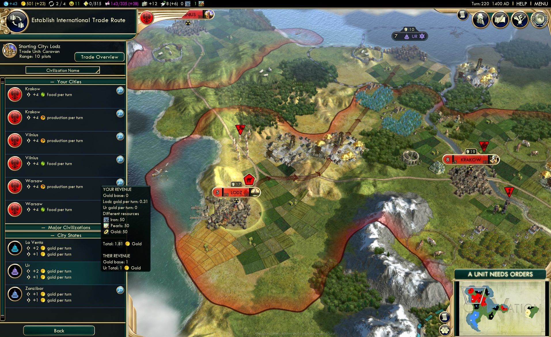 Screenshot for the game Sid Meier's Civilization V: Brave New World - GOTY (2013) PC | RePack от R.G. Механики