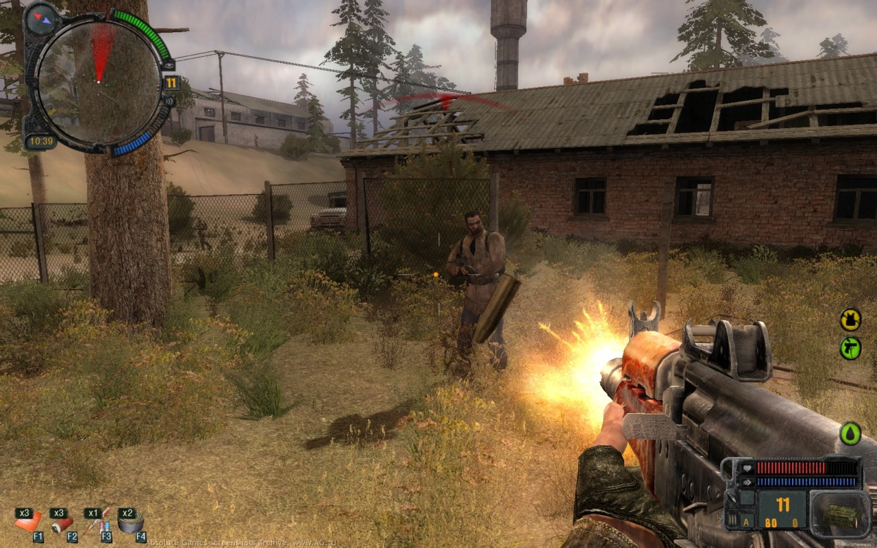 Screenshot for the game S.T.A.L.K.E.R. Трилогия / S.T.A.L.K.E.R. Trilogy (2007-2010) PC | RePack от R.G. Механики