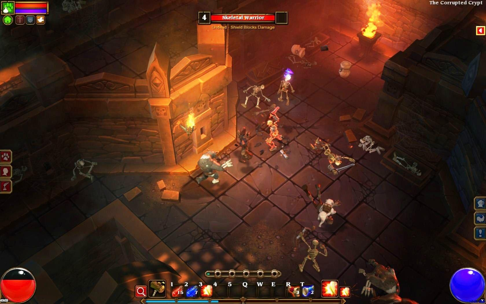 Screenshot for the game Torchlight: Dilogy (2012) PC | RePack от R.G. Механики