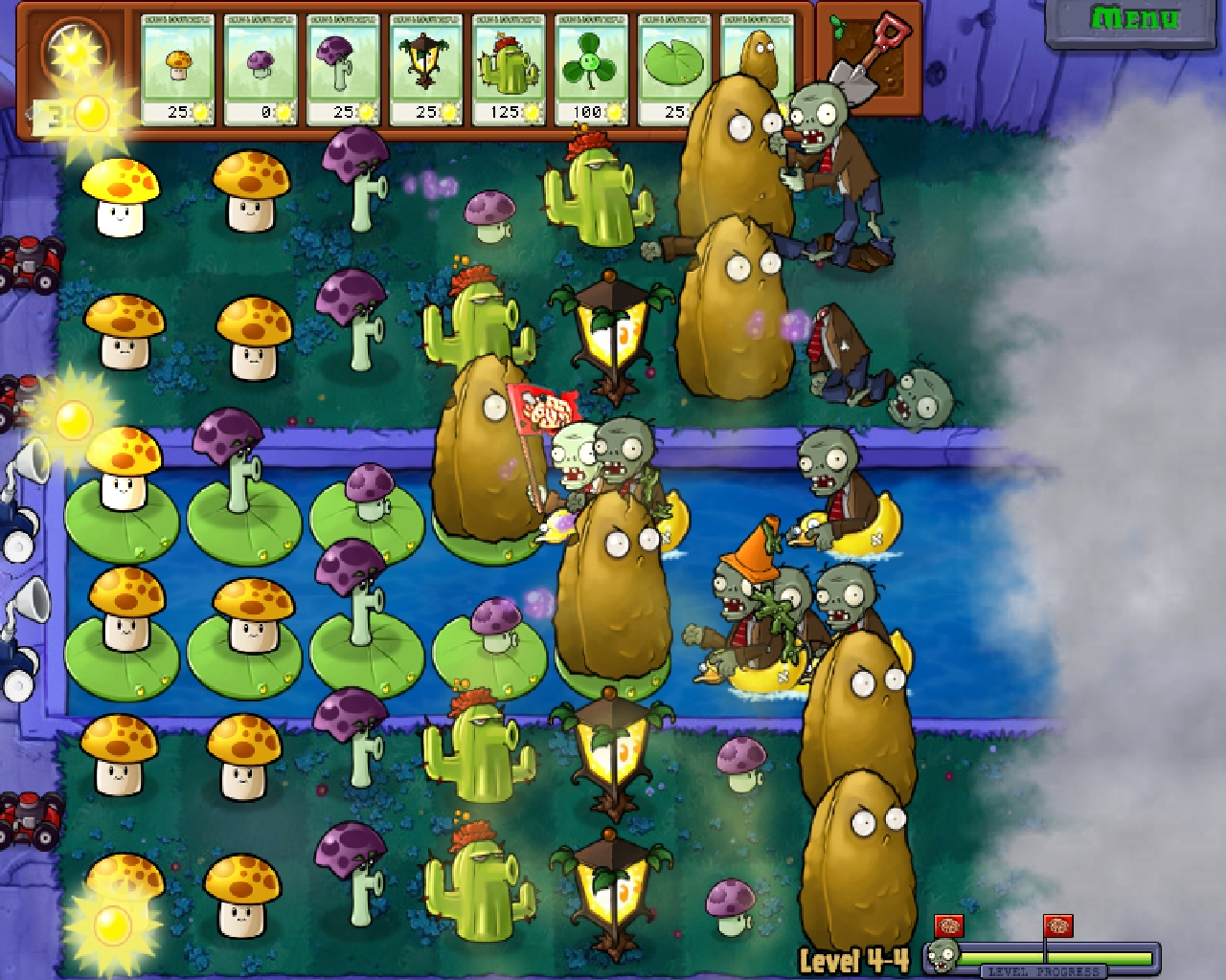 Screenshot for the game Plants vs Zombies (2009) PC | RePack от R.G. Механики