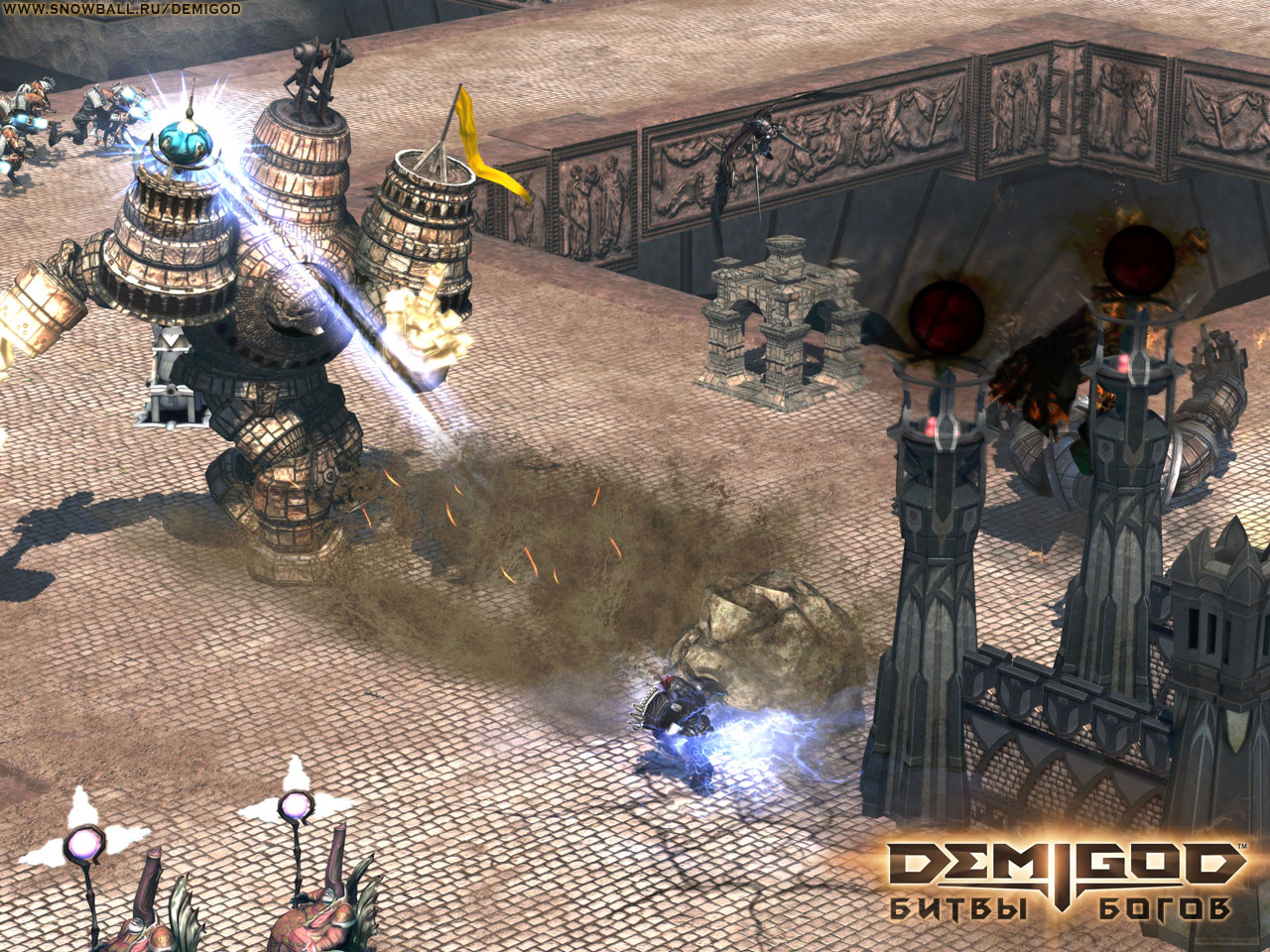 Screenshot for the game Demigod. Битвы богов (2009) PC | RePack от R.G. Механики