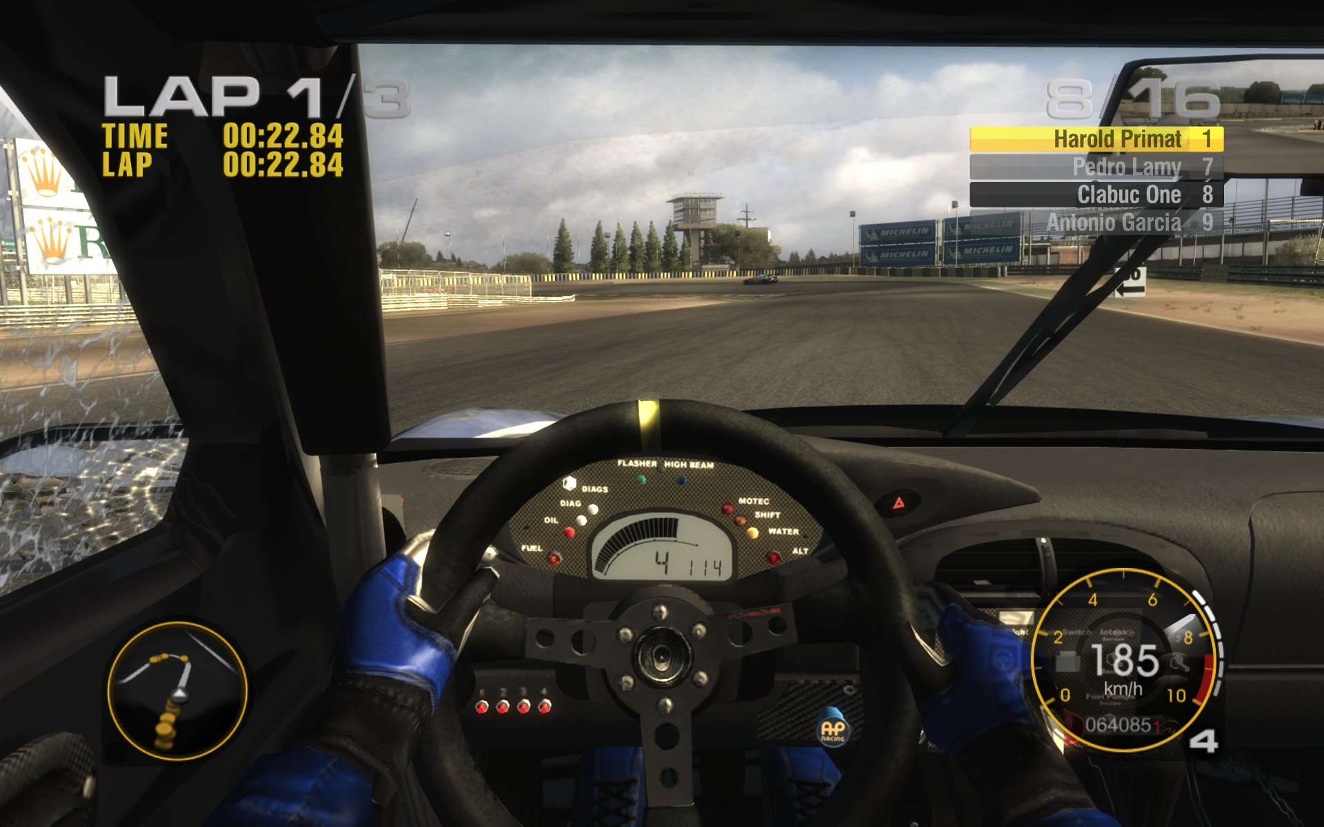 Screenshot for the game Race Driver: GRID (2008) PC | Repack от R.G. Механики