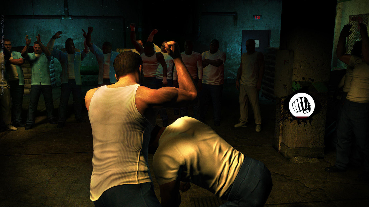 Screenshot for the game Prison Break: The Conspiracy (2010) PC | RePack от R.G. Механики