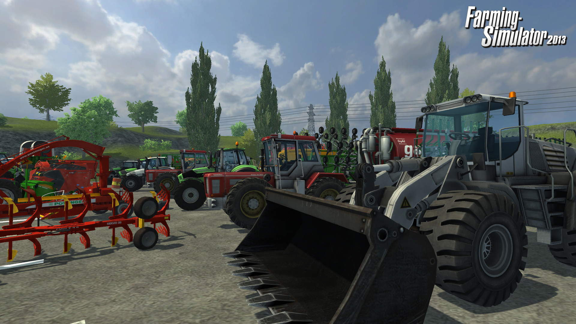 Screenshot for the game Farming Simulator 2013 (2012) PC | RePack от R.G. Механики