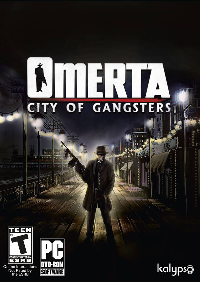 Poster Omerta: City of Gangsters (2013)