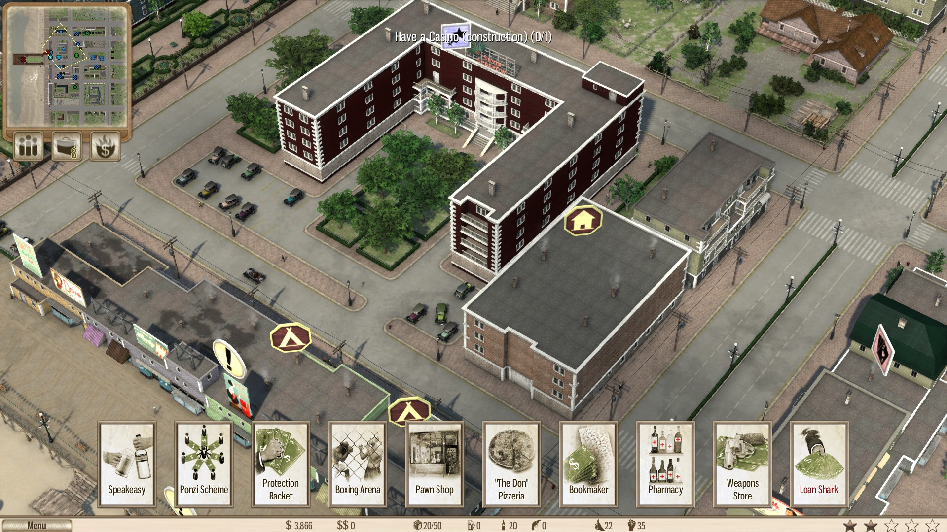 Screenshot for the game Omerta: City of Gangsters (2013) PC | Repack от R.G. Механики