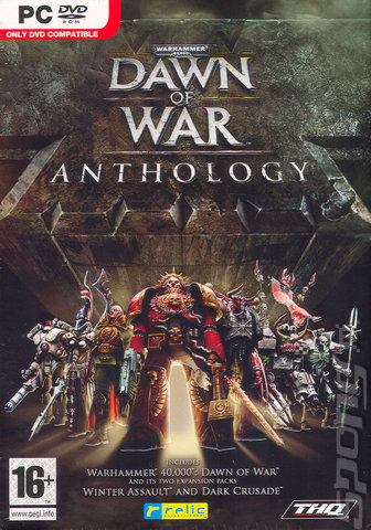 Poster Warhammer 40.000: Dawn of War - Anthology (2005 l 2006 l 2008 l 2010 l 2011)