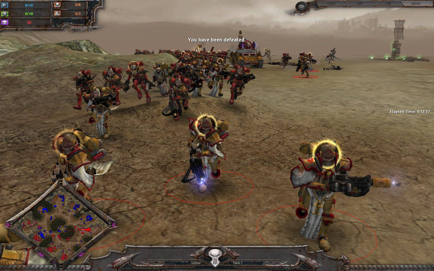 Screenshot for the game Warhammer 40.000: Dawn of War - Anthology (2005-2010) PC | RePack от R.G. Механики