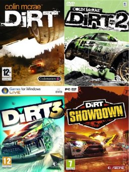 Poster DiRT: Anthology (2009 l 2011 l 2012)