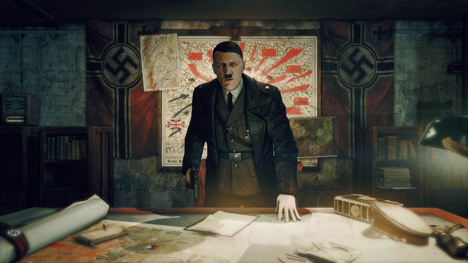 Screenshot for the game Sniper Elite: Nazi Zombie Army (2013) PC | Repack от R.G. Механики