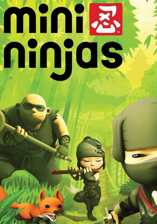 Cover Mini Ninjas (2009) PC | RePack от R.G. Механики