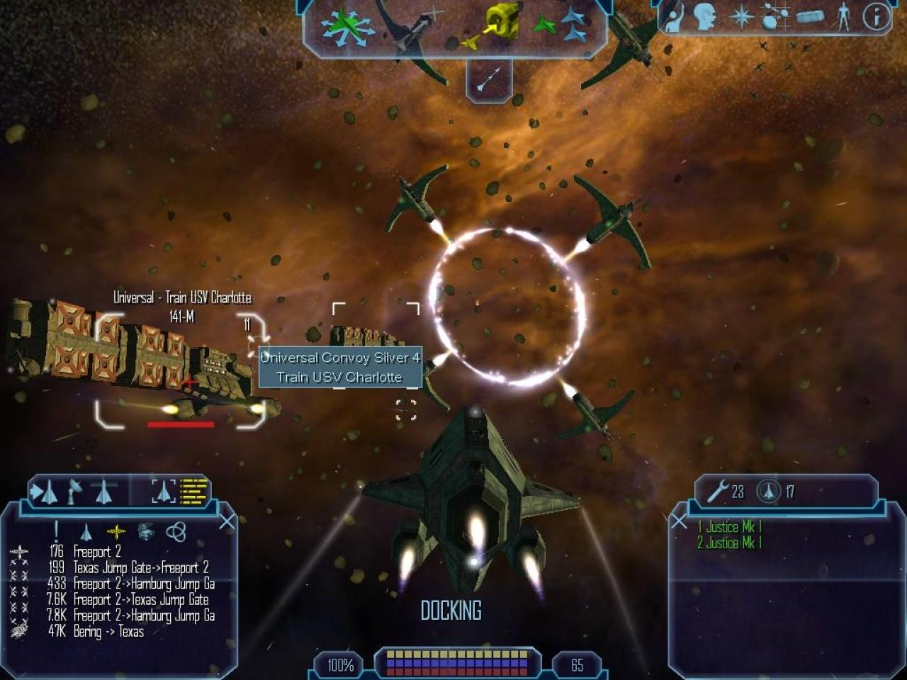Screenshot for the game Freelancer (2003) PC | RePack от R.G. Механики