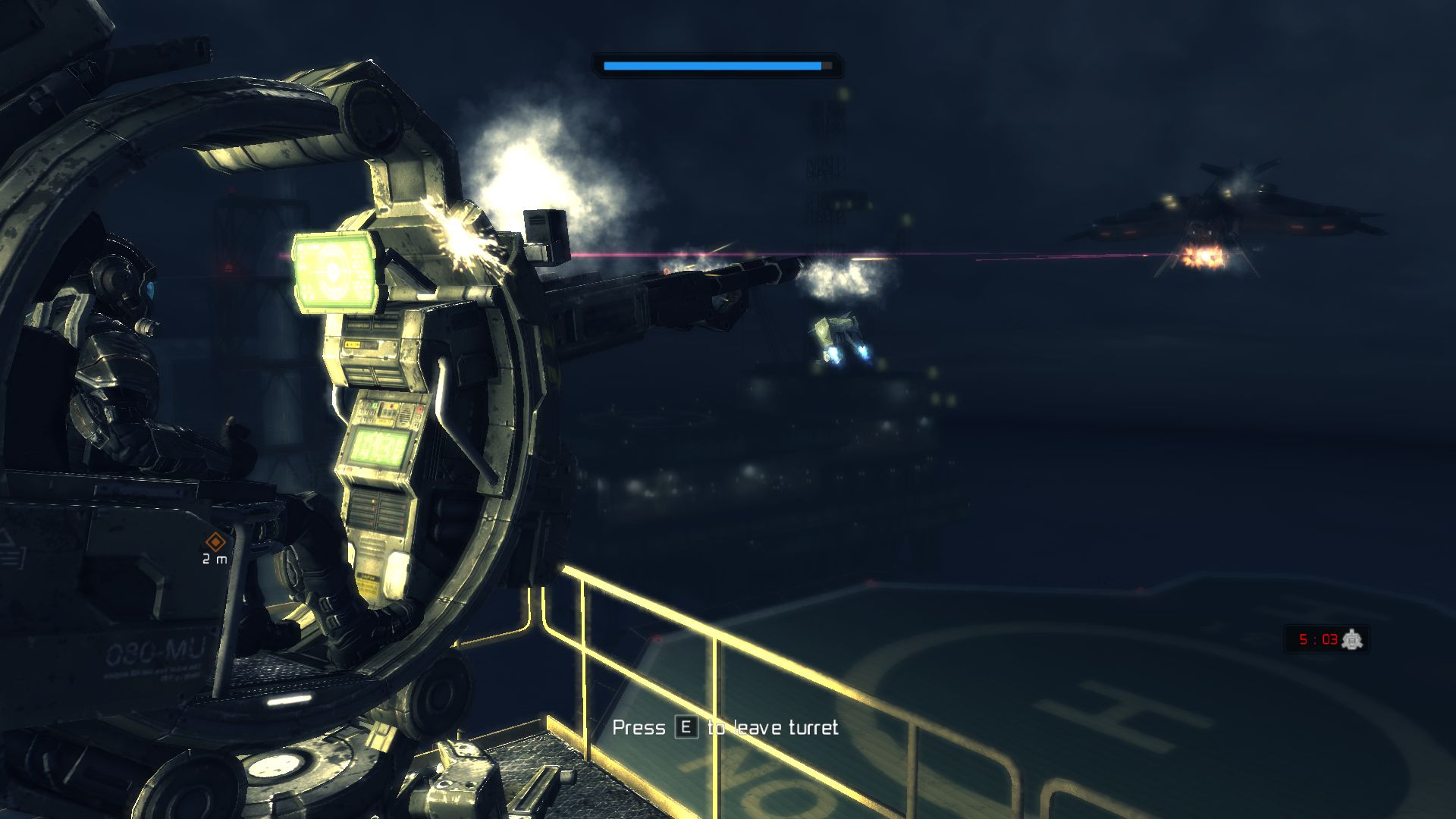 Screenshot for the game Deep Black: Reloaded (2012) PC | RePack от R.G. Механики