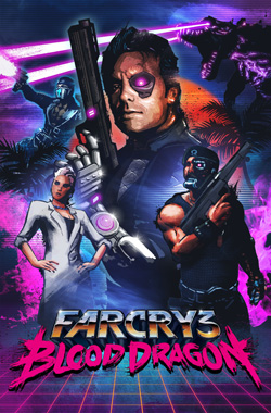 Cover Far Cry 3: Blood Dragon (2013) PC | RePack от R.G. Механики