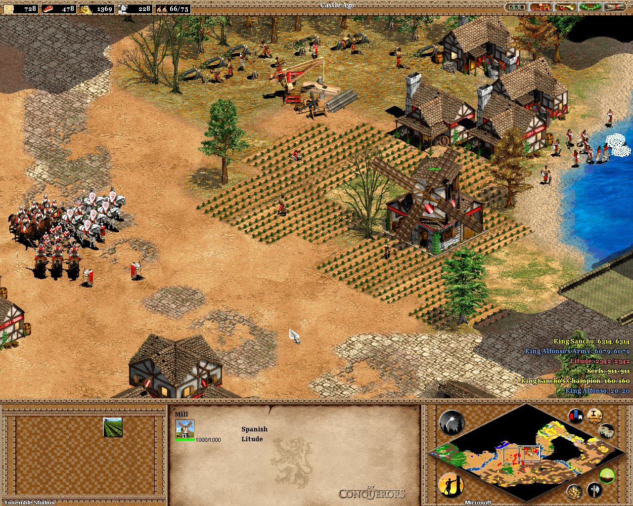 Screenshot for the game Age of Empires 2: HD Edition [v 5.6 + 3 DLC] (2013) PC | RePack от R.G. Механики