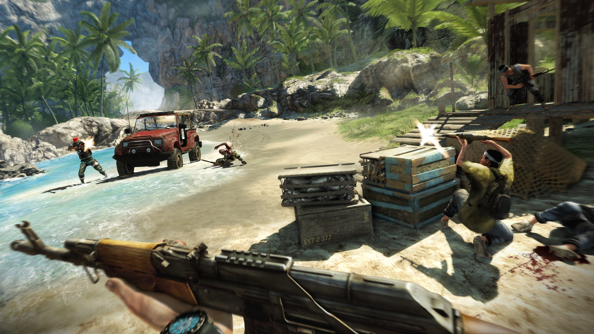Screenshot for the game Far Cry 3 (2012) PC | RePack от R.G. Механики