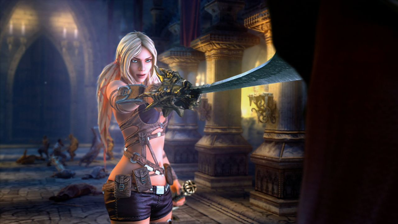 Screenshot for the game Клинки Времени / Blades of Time (2012) PC | RePack от R.G. Механики