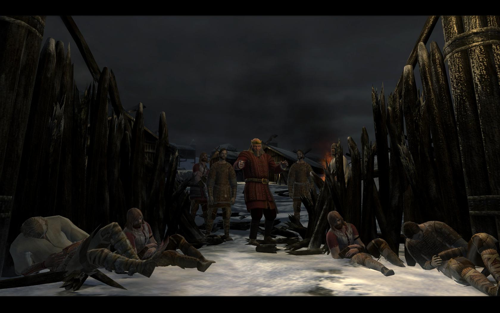 Screenshot for the game Beowulf: The Game (2007) PC | RePack от R.G. Механики