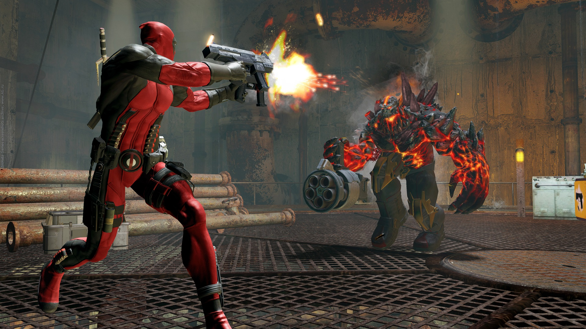 Screenshot for the game Deadpool (2013) PC | RePack от R.G. Механики